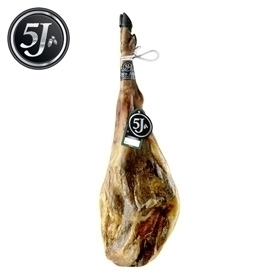 Whole 100% iberico ham acorn-fed Cinco Jotas - 5J