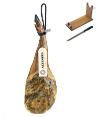 Iberico ham (shoulder) grain-fed Altadehesa + ham stand + knife